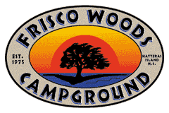 Frisco Woods Camping Grounds on Hatteras Island Address: 53124 NC-12, Frisco, NC 27936 Phone:(252) 995-5208