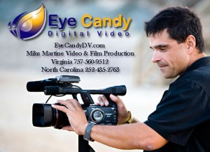 Eye Candy Digital Video Productions Virginia Beach and Outer Banks