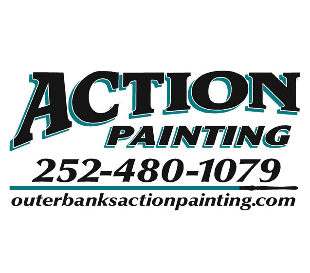 Outer Banks Action Painting