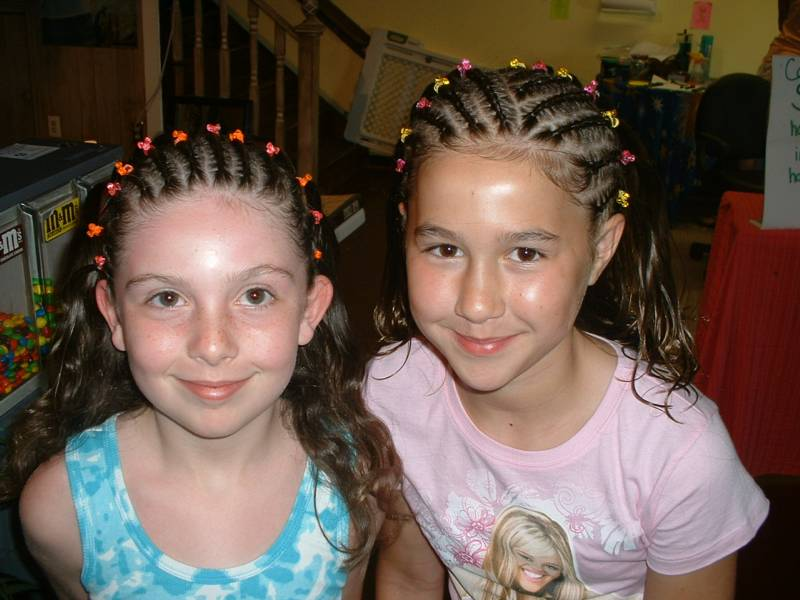 Beach Braids and Temporary Tattoos on the Outer Banks