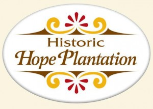 Hope Plantation part of the Historic Albemarle Tour front of the mansion in Windsor, North Carolina 27983