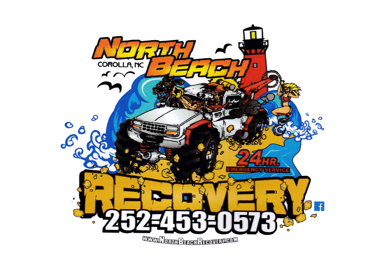 North Beach Recovery OBX, Corolla Towing, Chase Davennport
