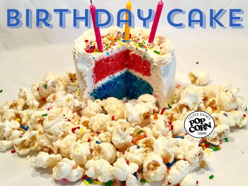 OBX Birthday Cake