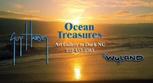 Ocean Treasures Art Gallery in Duck NC - We feature the art and gift lines of Thomas Kinkade, Wyland, Guy Harvey, Disney, Mark Keathley, Walfrido Garcia, Laurel Burch, Marcia Baldwin & more!