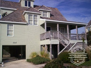 outer banks painting contractors, action painting