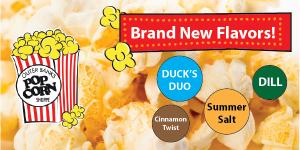 OBX Summertime Popcorn Flavors