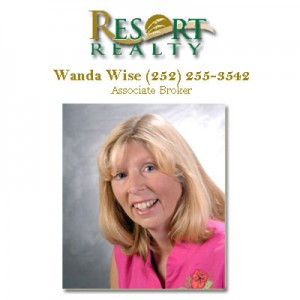 Wanda Wise Associates Broker Outer Banks Resort Realty