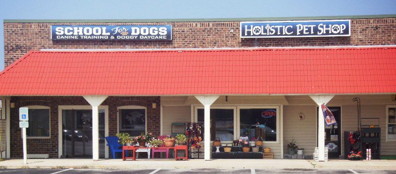 Outer Banks Doggy Daycare at the Holistic Pet Shop