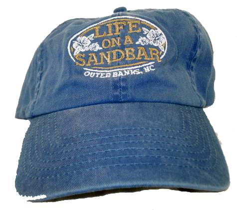 Life on A Sandbar Merchandise Blue Denim Hat