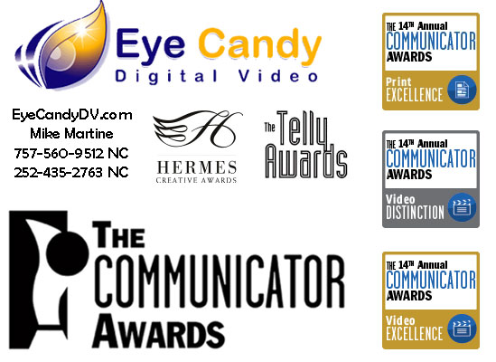 Eye Candy Digital Video and Film Production Awards Mike Martine