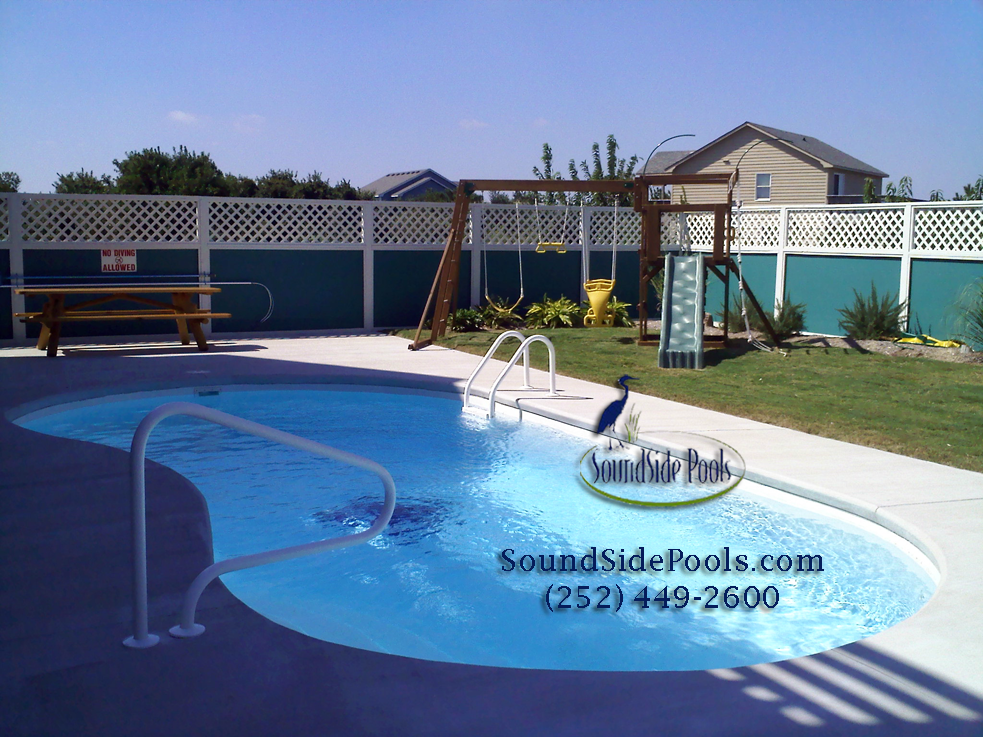 OBX SoundSide Pools fro vacation homes