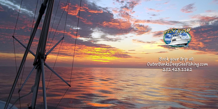 West Wind Fishing Charters with Captain Olan West Nags Head