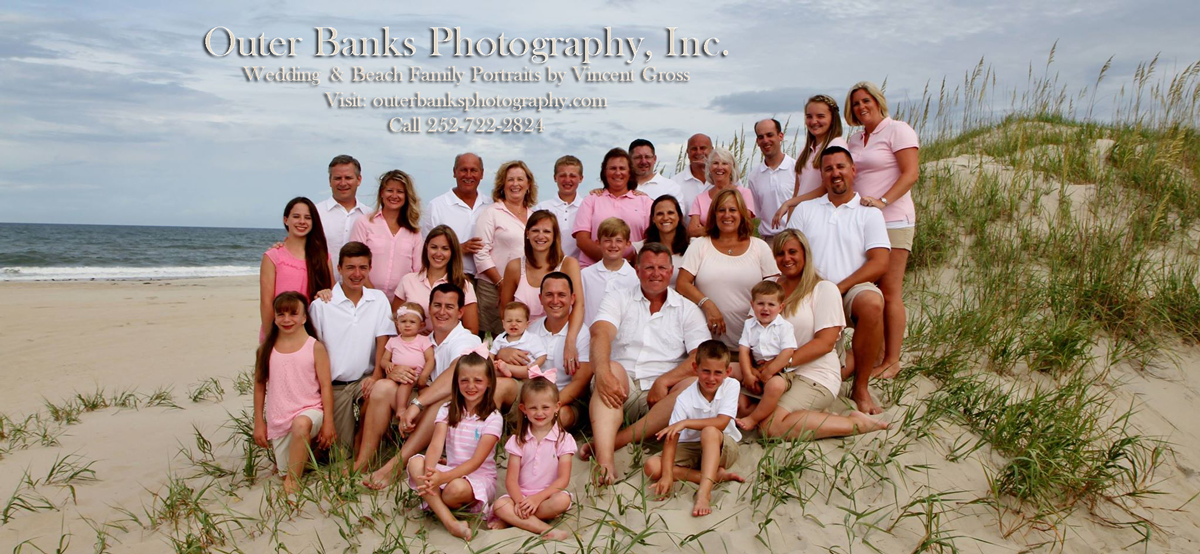 Outer Banks Family Beach Portraits