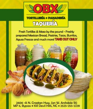 OBX Tortilleria, Panaderia & Taqueria Kill Devil Hills