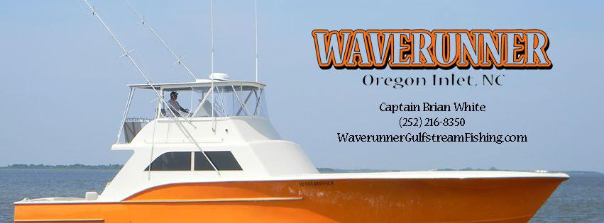 Waverunner Gulfstream Fishing Charter Captain Brian White (252) 216-8350
