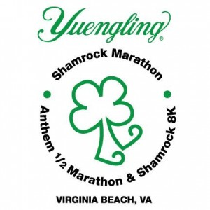 The Yuengling Shamrock Marathon Weekend will be on March 20-22, 2015 in Virginia Beach. Come celebrate with us.
