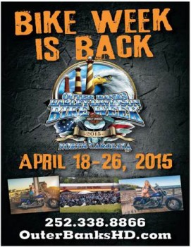 Outer Banks Bike Week April 18th-26th 2015