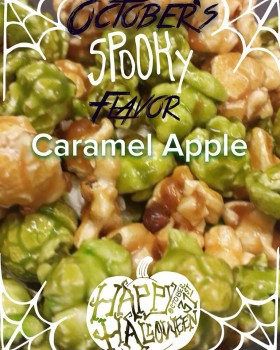 Spooky Caramel Apple October Flavor of the Month
