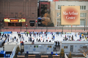 MacArthur Outdoor Ice Skating