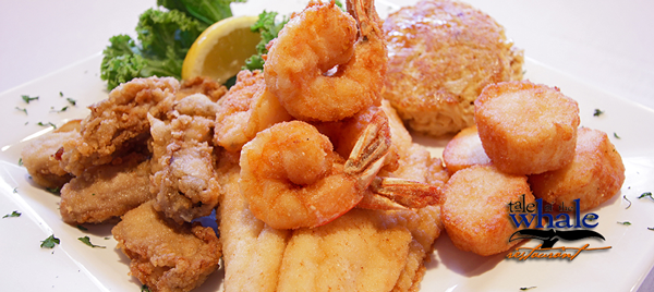 Tale of the Whale Nags Head fried seafood platter