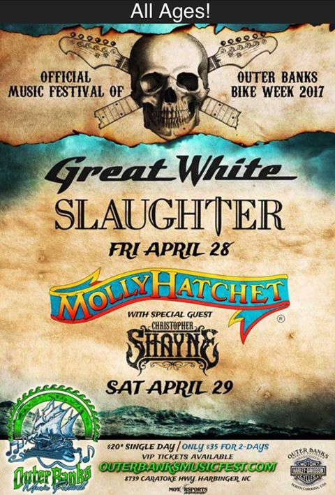 15th Annual Outer Banks Bike Week, Music Festival