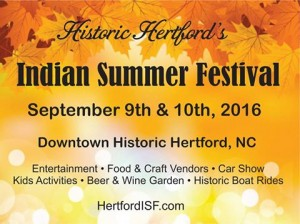 Indian Summer Festival in Hertford NC