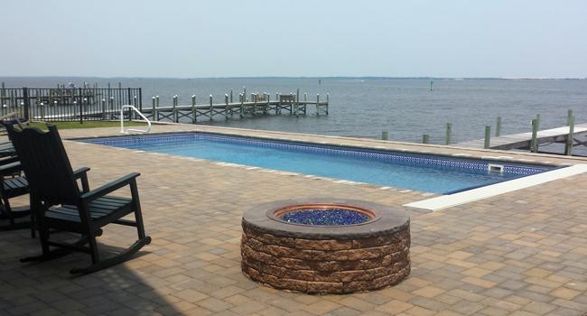Pirates Cove Pool Installation