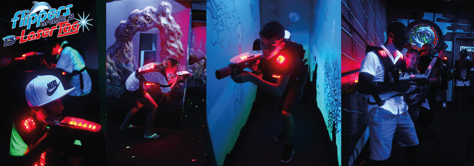 Flippers Arcade and Lazer Tag