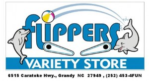Flippers Arcade Outer Banks