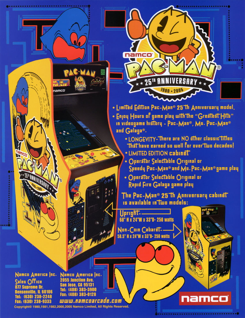 Pacman Video Arcade Game