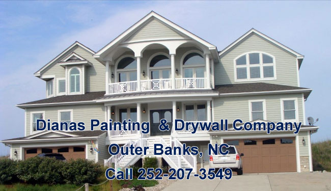 Outer Banks Painting, Diana's Painting