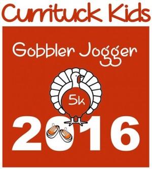 Gobbler Jogger 5K, Currituck Kids 2016