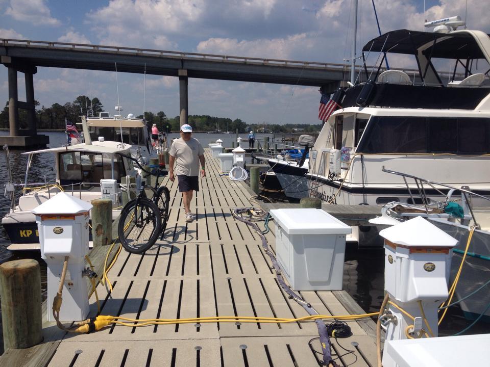 Oriental Marina in NC