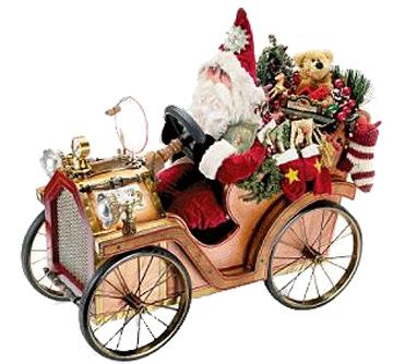 Santas Jolly Jalopy