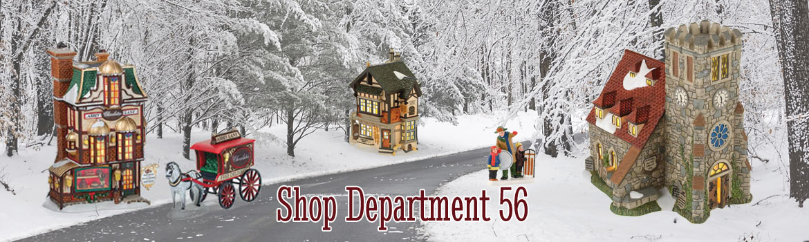 Christmas Shop Store Department 56