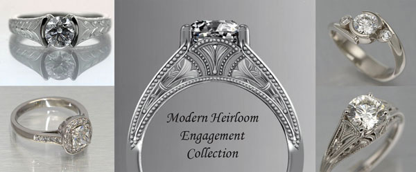 Modern Heirloom Engagement Collection