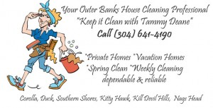 Keep it Clean with Tammy Dean Outer Banks House Cleaning Professional