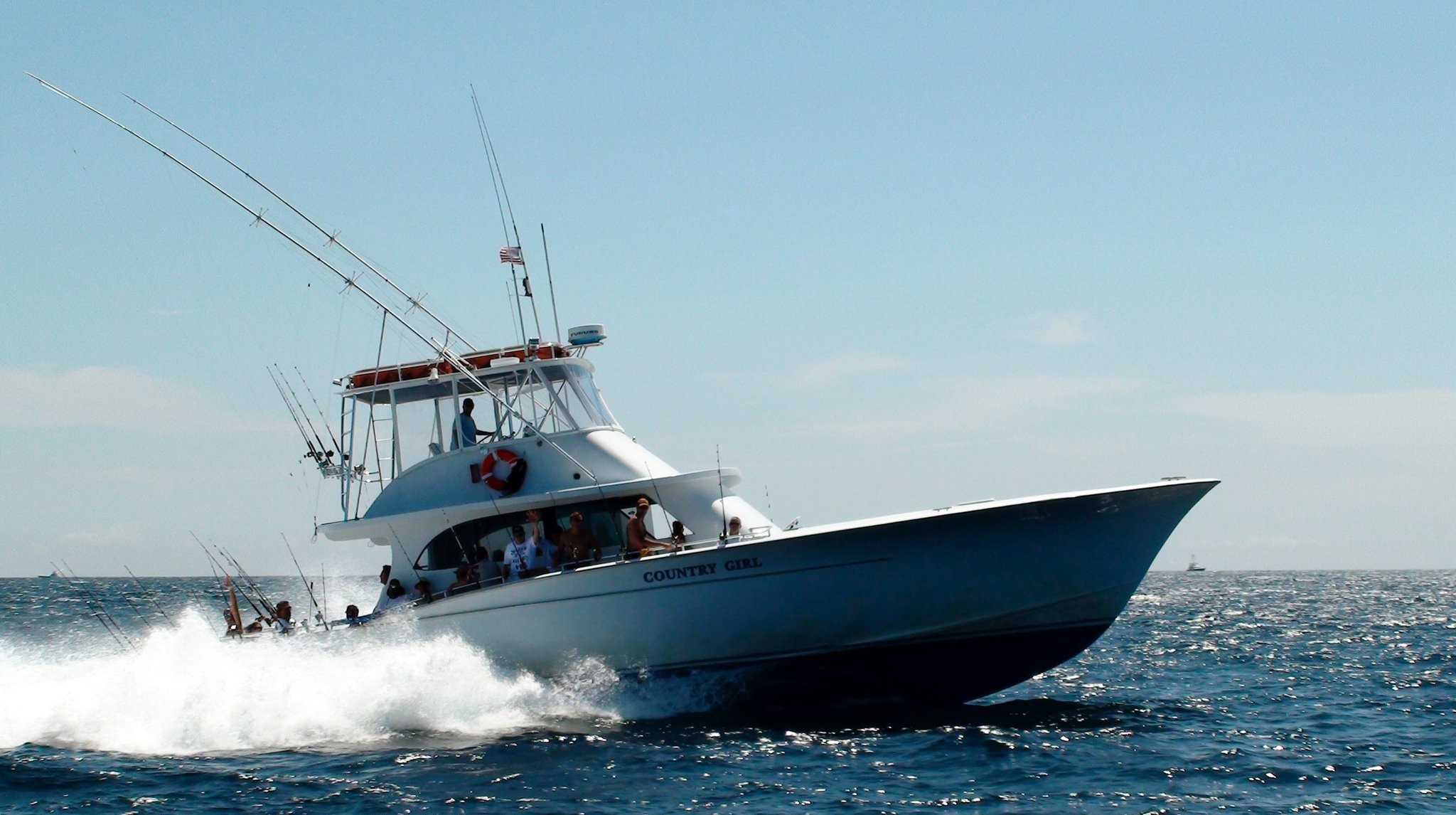 Country girl gulf stream fishing charter outer banks for Fishing charters outer banks