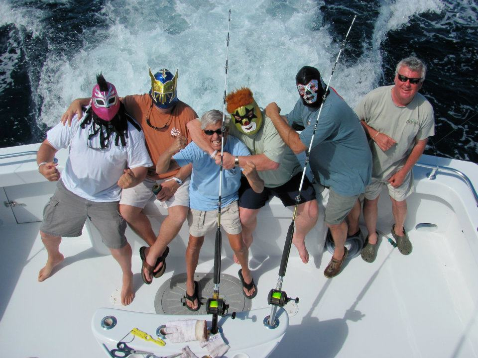 Masked Fishermen, Country Girl Fishing Charters, Outer Banks