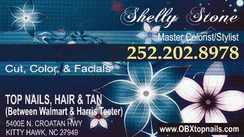 Kitty Hawk Hair Salon, Shelly Stone