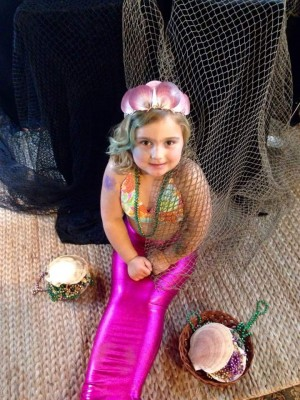 baby mermaids makeovers, beach braids in duck nc