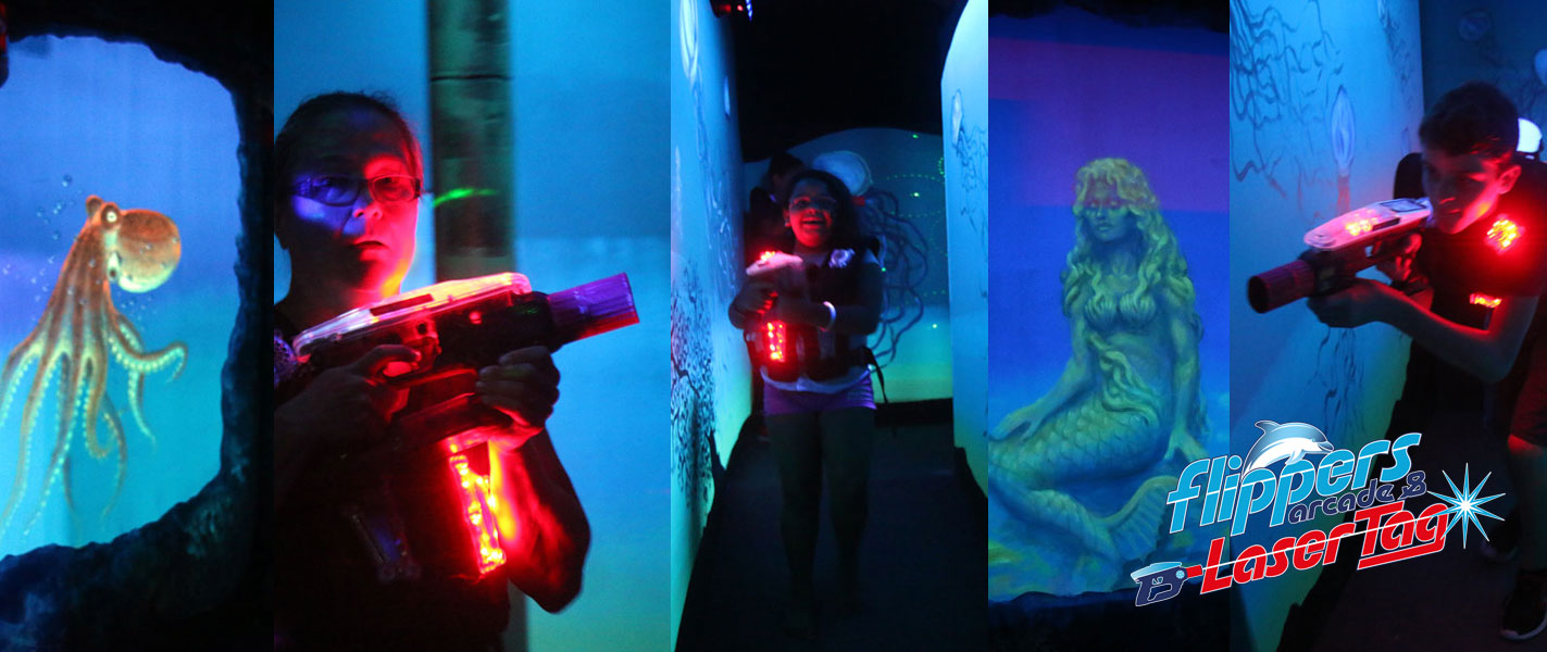 Flippers Arcade and Laser Tag Grandy NC