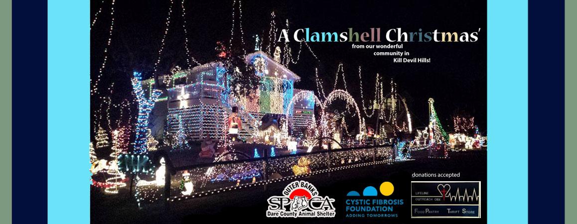 Clamshell Christmas Kill Devil Hills