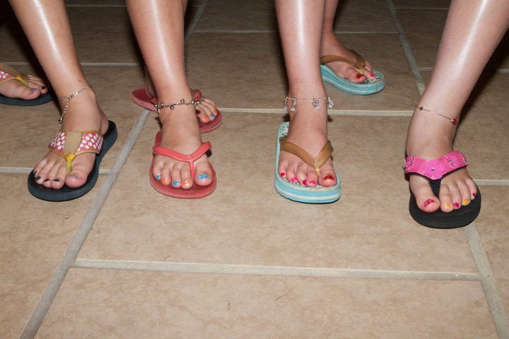 pedicures at ocean nail spa in southern shores