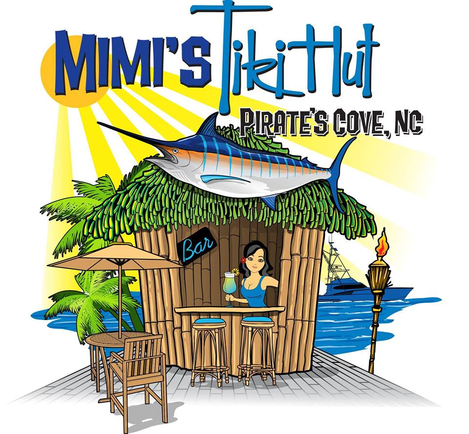 Mimis Tiki Hut in Pirates Cove NC