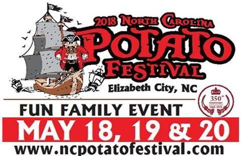 NC Potato Festival Elizabeth City