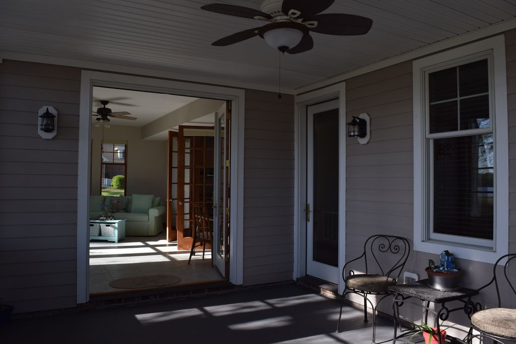 Outside Porch Area, Donald Riddick Builders