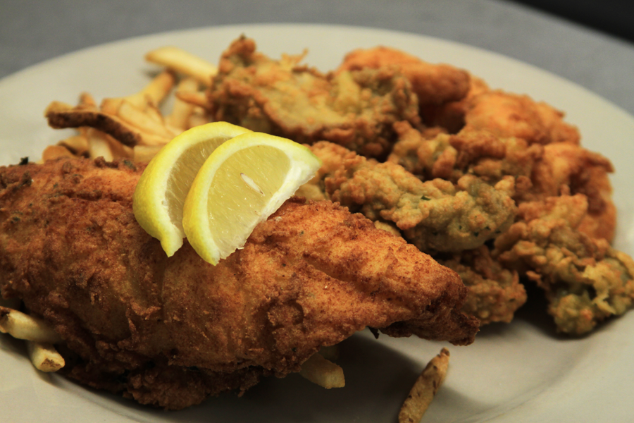 Simply Southern Kitchen Fried Seafood