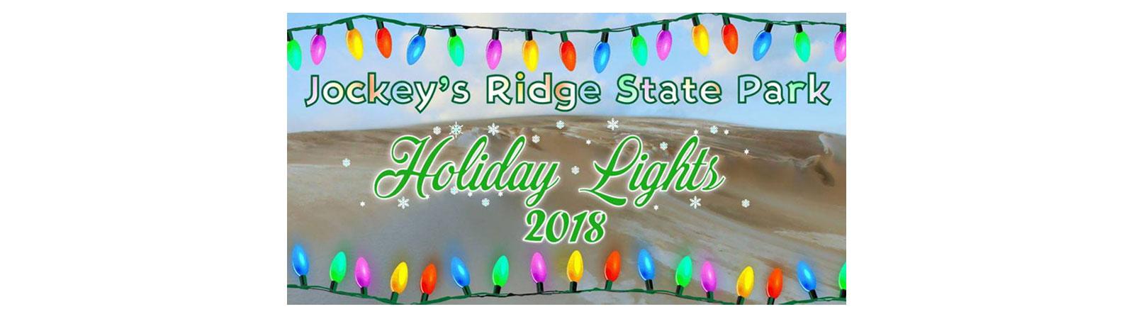 Jockeys Ridge State Park Holiday Lights